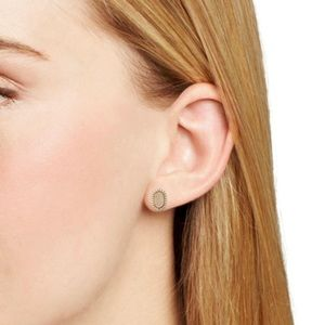 NEW Kendra Scott Cade Gold Stud Earrings